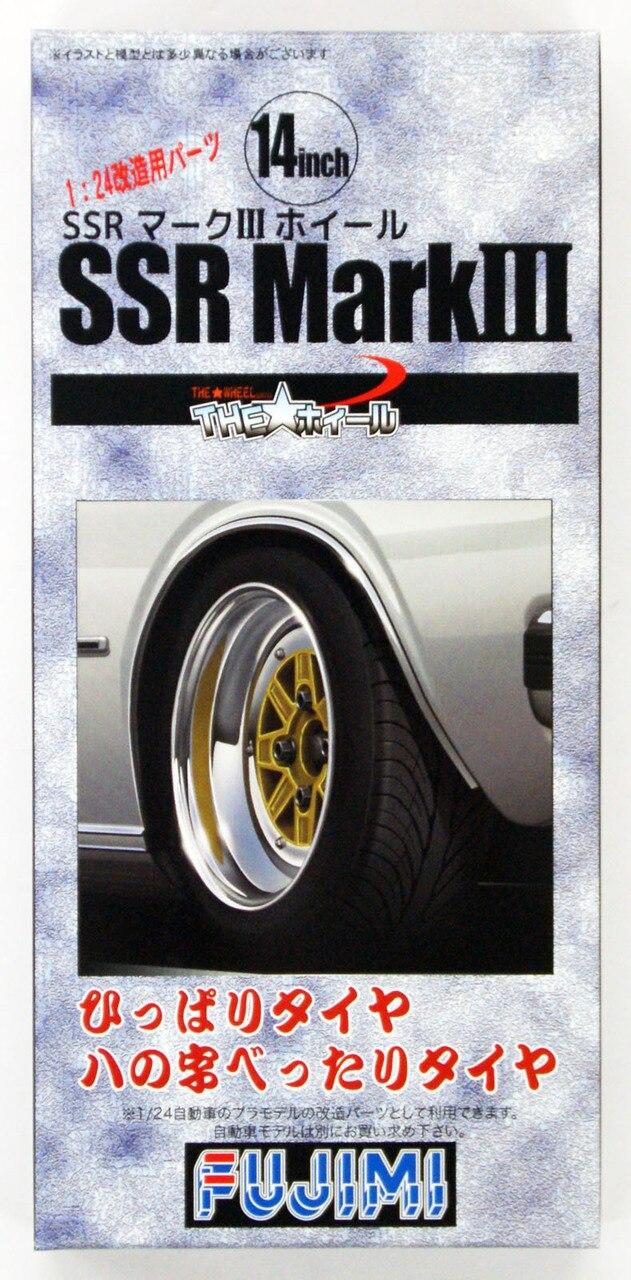 Fujimi 1/24 The Wheel Series (No.65) SSR Mark III Wheel & Tire Set 14 inch