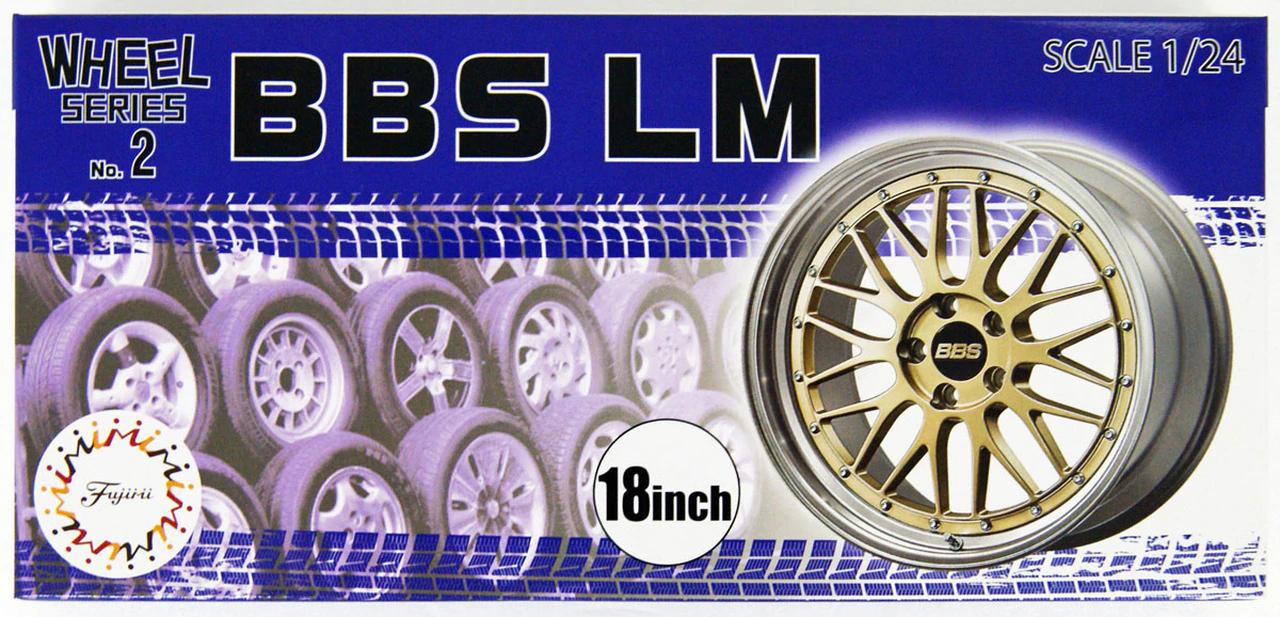 Fujimi 1/24 Wheel Series (No.2) BBS LM 18 inch
