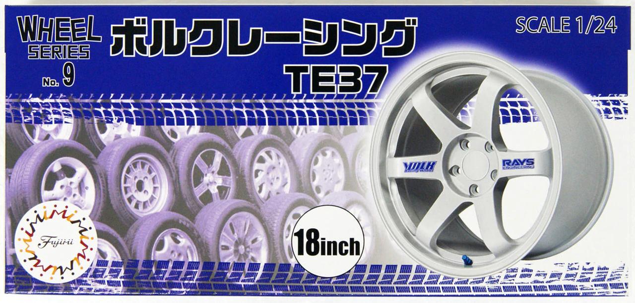 Fujimi 1/24 Wheel Series (No.9) Volk Racing TE37 18 inch