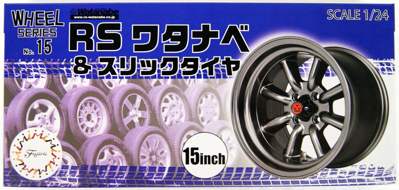 Fujimi RS Watanabe & Slick Tire 15 inch