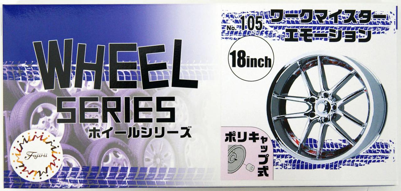 Fujimi 1/24 Wheel Series (No.105) Work Meister Emotion 18 inch