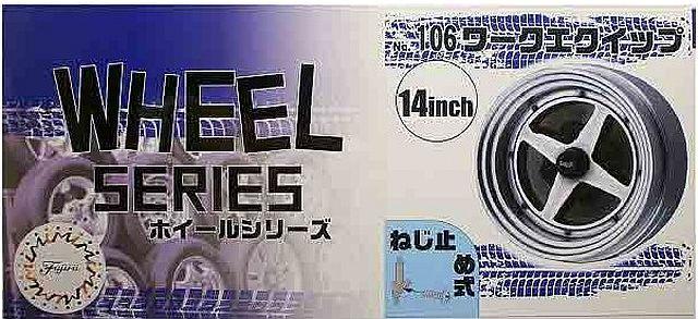 Fujimi 1/24 Wheel Series (No.106) Work Equip 14 inch