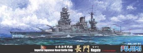 Fujimi 1/700 Imperial Japanese Navy Battleship Nagato