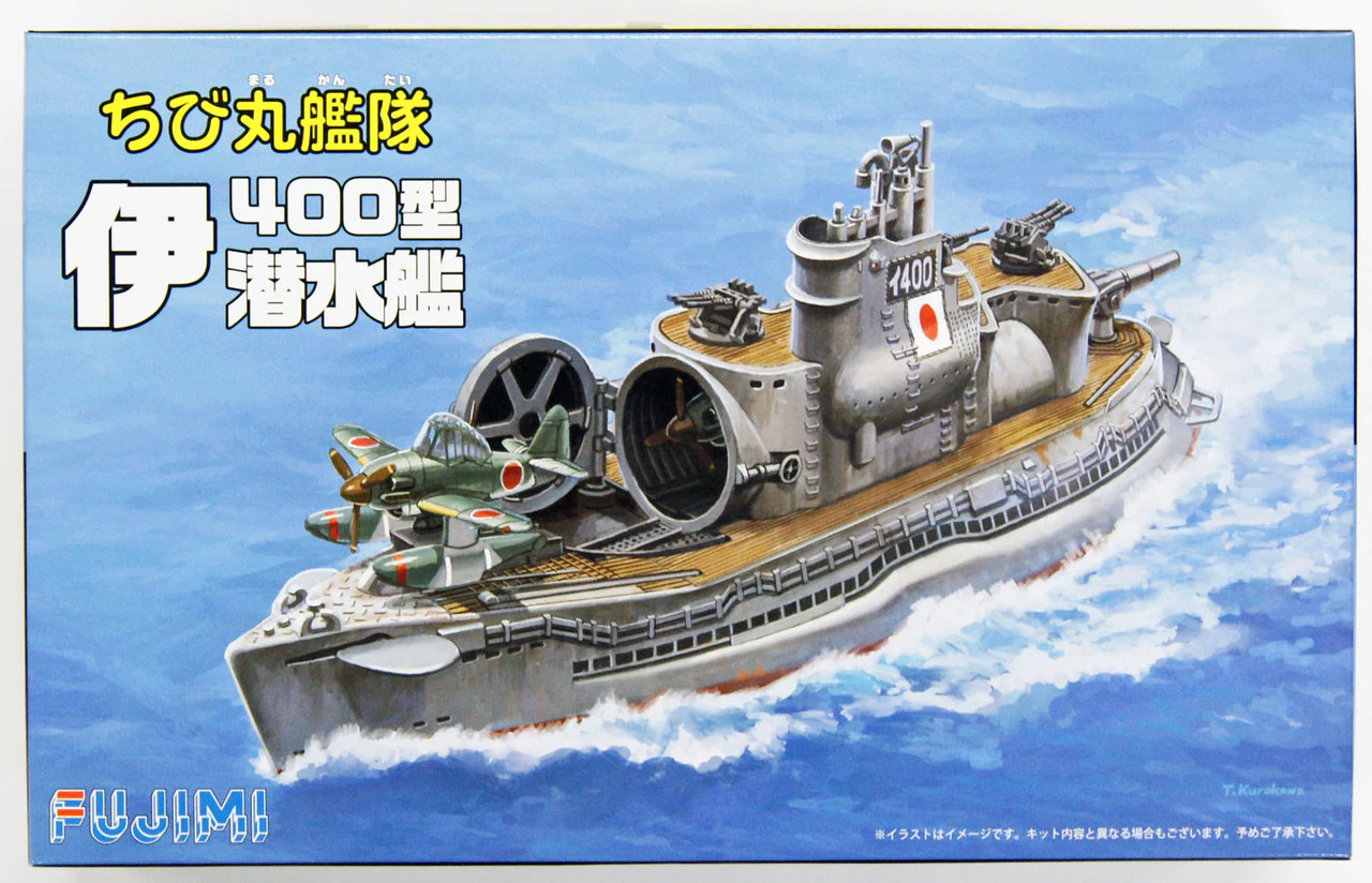 Fujimi Chibimaru Ship I-400 Submarine