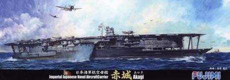 "Fujimi 1/700 Japanese aircraft carrier ""AKAGI"""