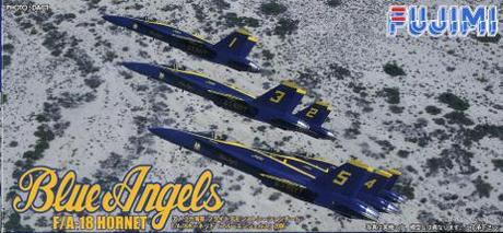 """Fujimi F/A-18 Hornet C """" BLUE ANGELS"""""""