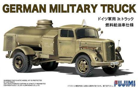 Fujimi 1/72 ML5 German Military Truck (Tanker)