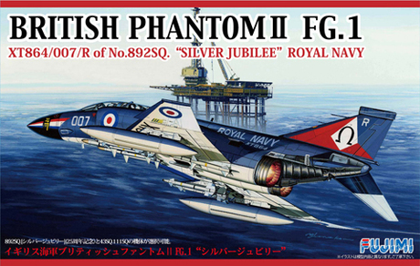 Fujimi 1/72 British Phantom II FG.1 Silver Jubilee