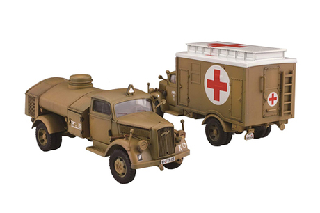 Fujimi German 3ton Truck (Box Type Rescue Vehicle/Refueller)