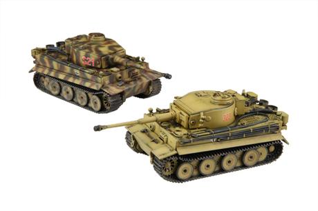 Fujimi German Pz.Kpfw.VI Tiger I Early (Set of 2)