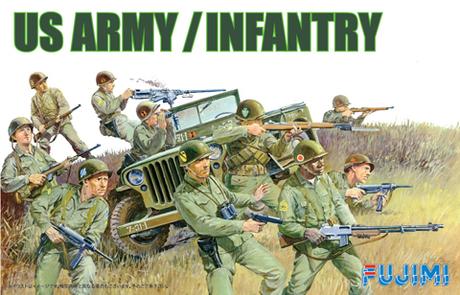 Fujimi US Army Infantry Set