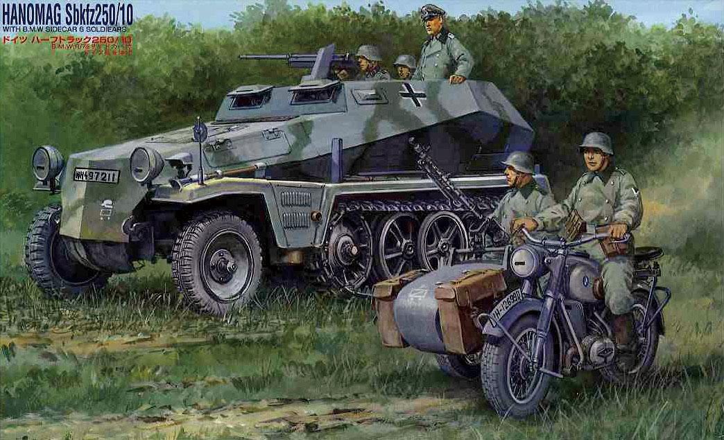 Fujimi Hanomag Sdkfz250/10