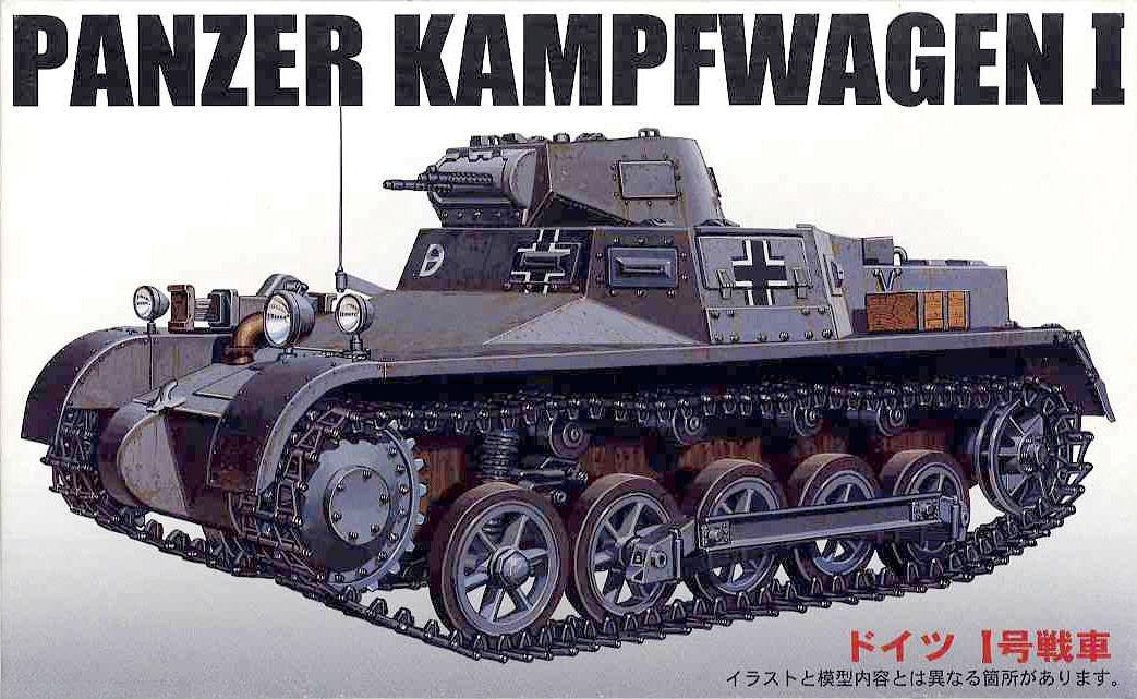 "Fujimi German ""Panzer Kampf wagen I"""