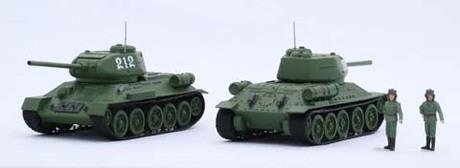 Fujimi Soviet T-34/85 (Set of 2)