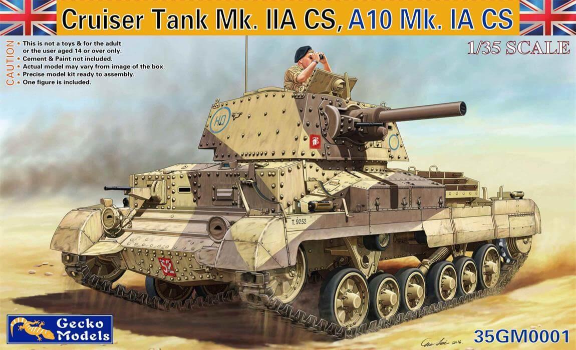 Gecko 1/35 Cruiser Tank Mk. IIACS, A10Mk. IA CS