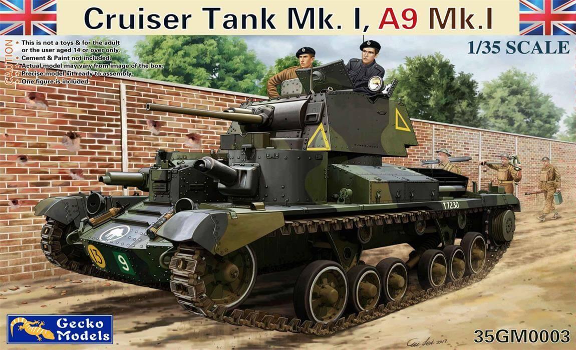 Gecko 1/35 Cruiser Tank Mk. I, A9 Mk.1