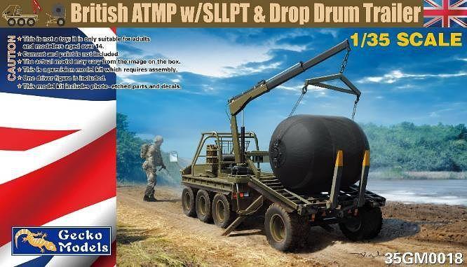 Gecko 1/35 British ATMP with SLLPT & Drop Drum Trailer