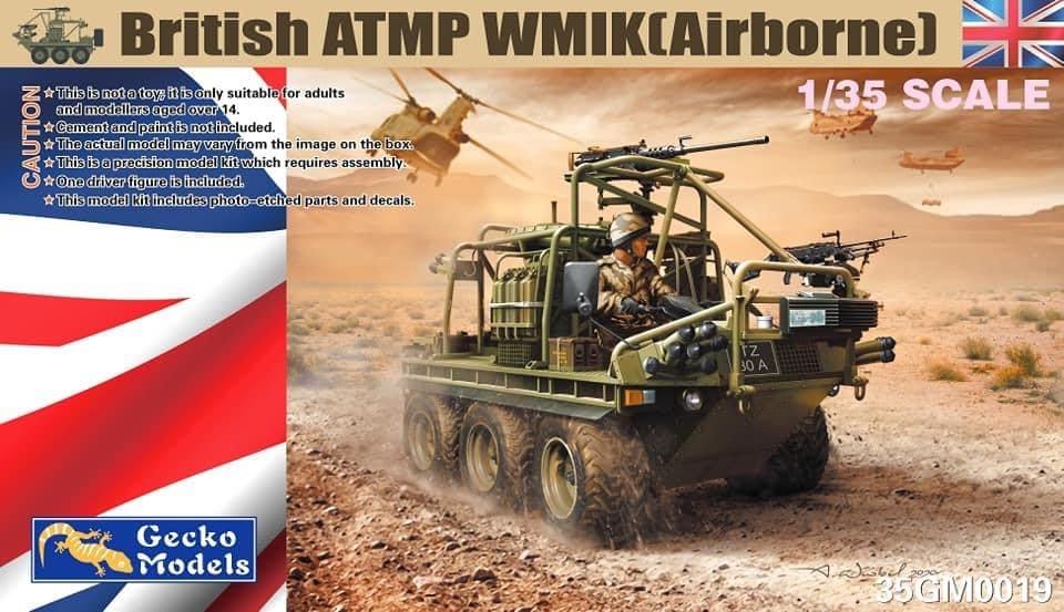 Gecko 1/35 British ATMP WMIK(Airborne)