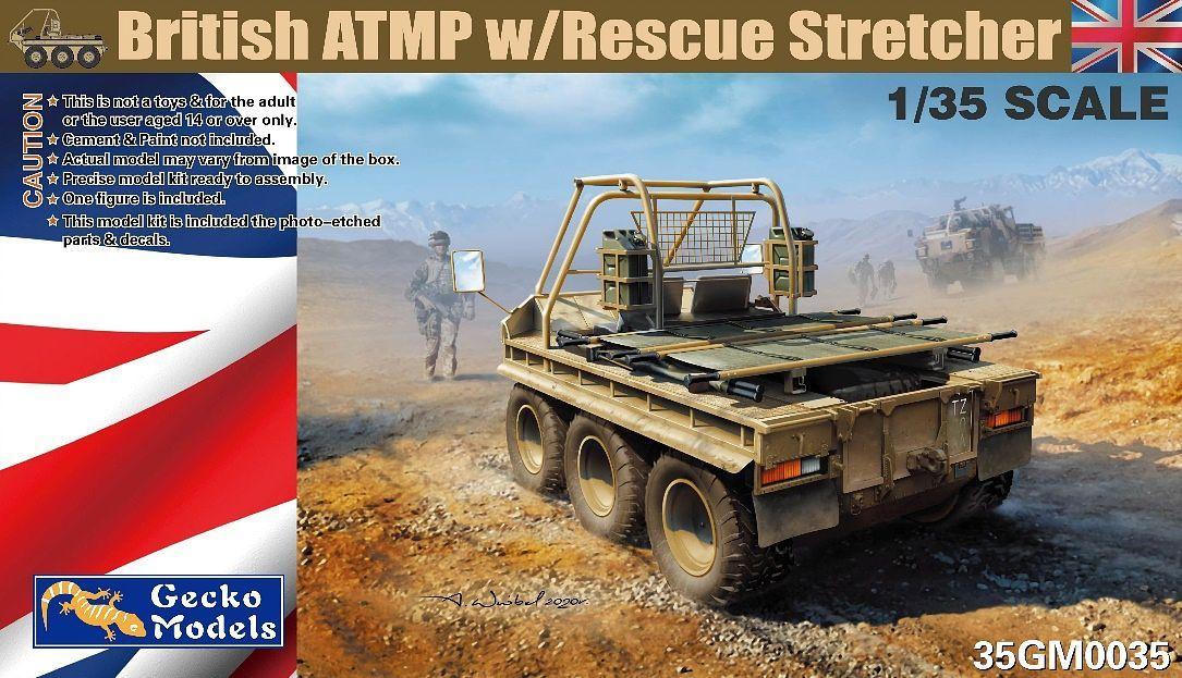 Gecko 1/35 British ATMP with Rescue Stretcher