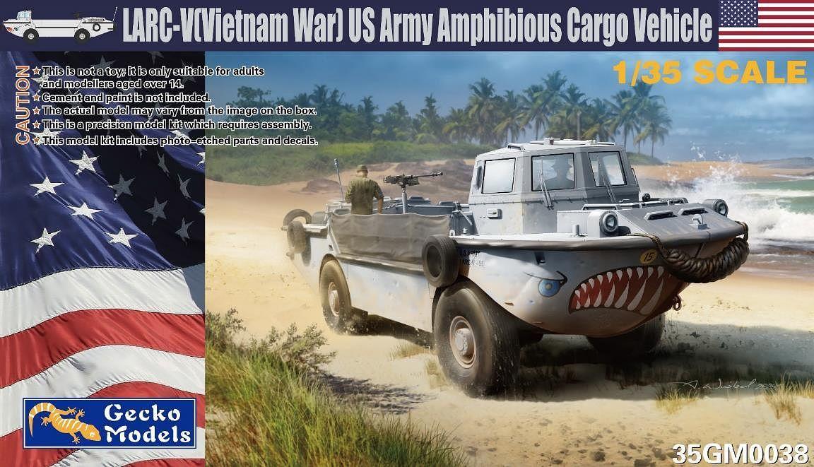 Gecko 1/35 LARC-V (Vietnam War) US Army Amphibious Cargo Vehicle