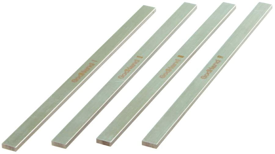 GodHand Stainless-Steel FF Sanding Board 6mm (Set of 4)