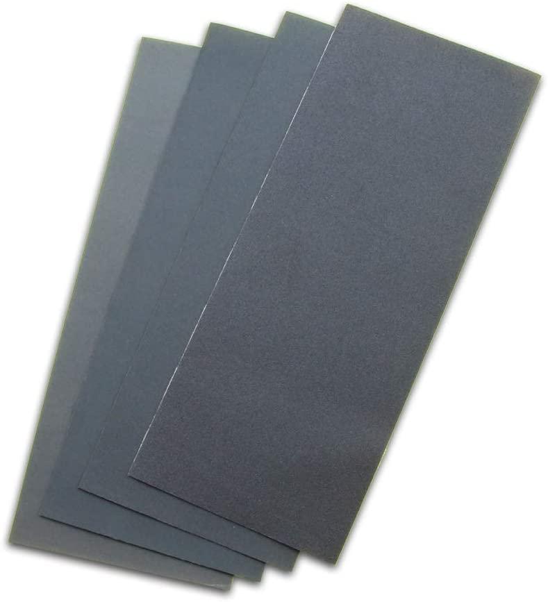 GodHand Emery Flex Sanding Cloth - Set of 4 Grits