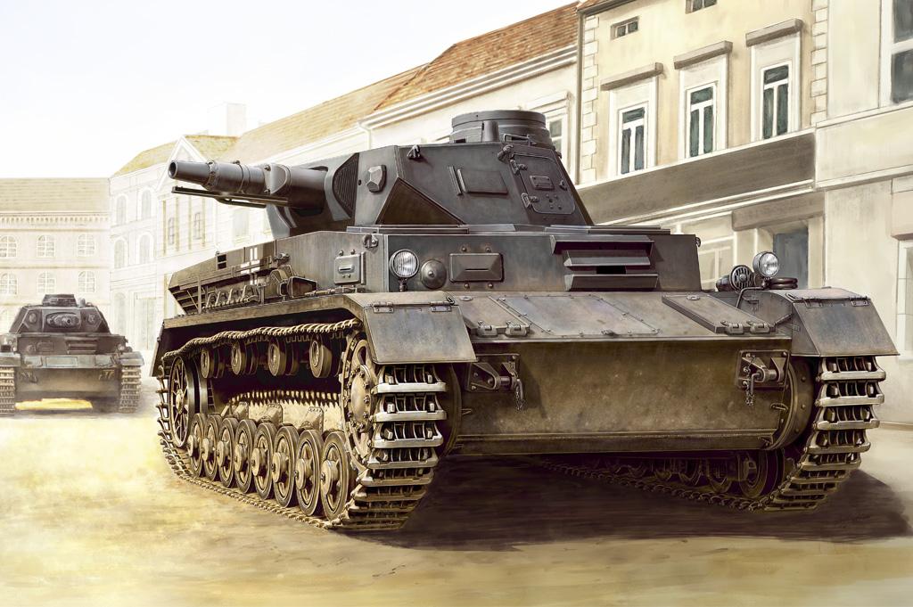 Hobby Boss 1/35 German Panzerkampfwagen IV Ausf C