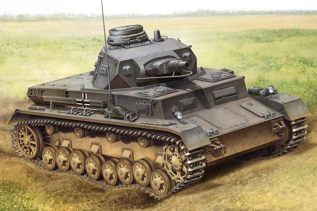 Hobby Boss 1/35 German Panzerkampfwagen IV Ausf B