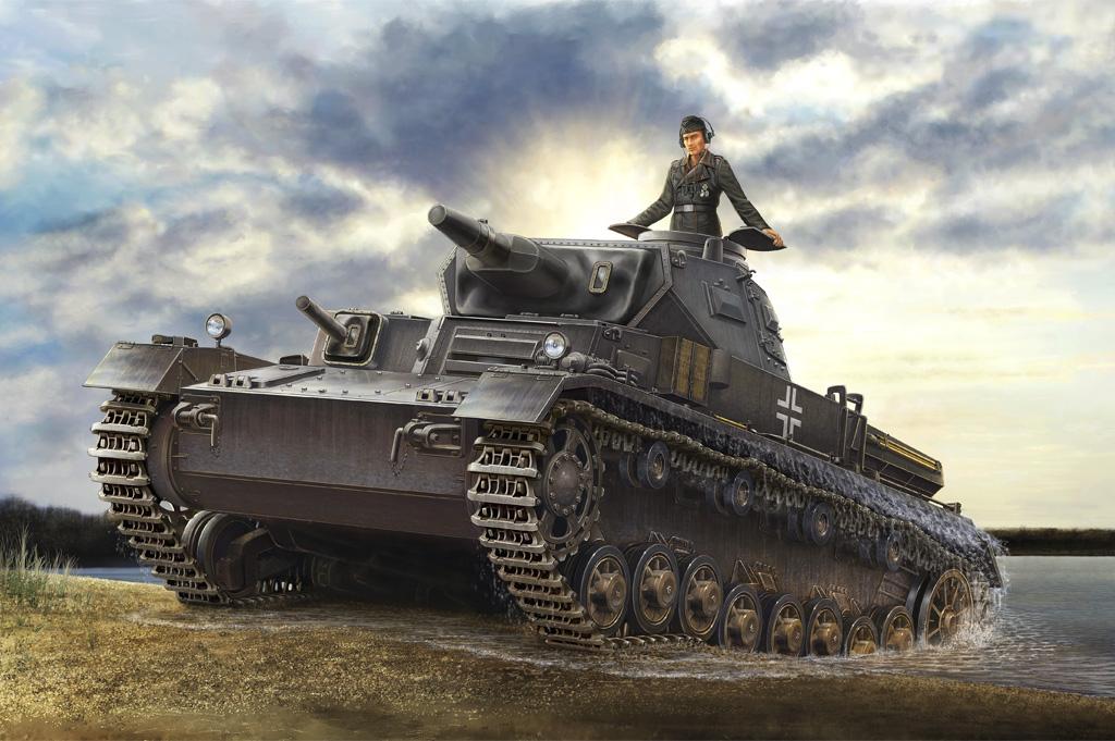 Hobby Boss 1/35 German Panzerkampfwagen IV Ausf D Tauchpanzer