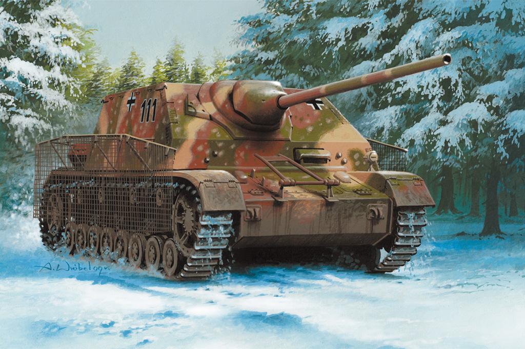 Hobby Boss 1/35 German Panzer IV / 70 (A) Sd. Kfz.162/1