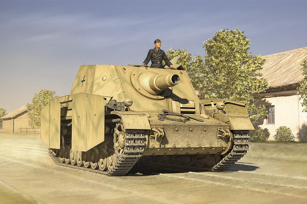 "Hobby Boss 1/35 German SturmPanzer IV Early Sd. Kfz.166 ""Brummbar"""