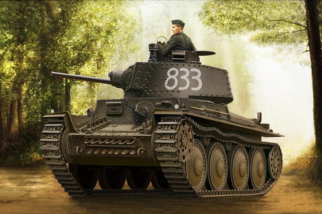 Hobby Boss 1/35 German Panzer Kpfw.38(t) Ausf.E/F
