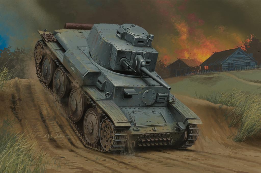 Hobby Boss 1/35 German Panzer Kpfw.38(t) Ausf.G