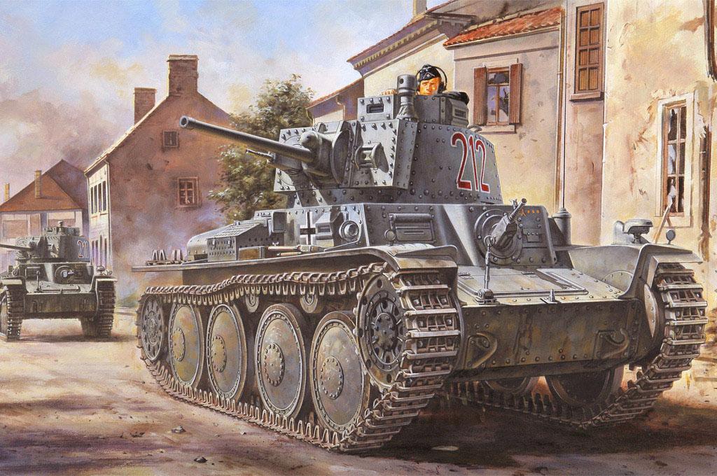 Hobby Boss 1/35 German Pz.Kpfw. / Pz.BfWg 38(t) Ausf. B