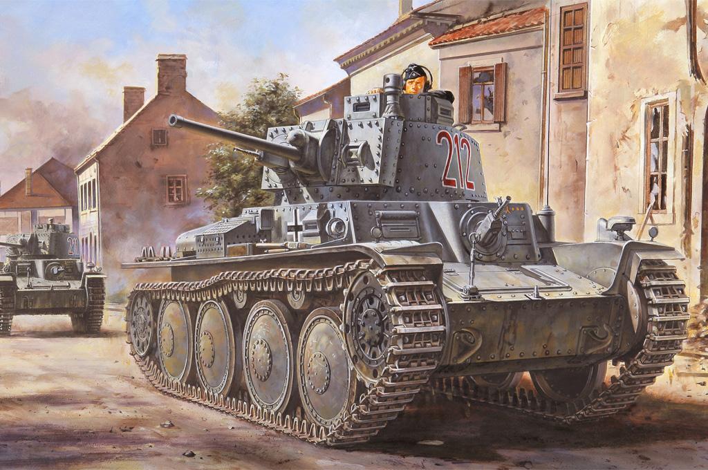 Hobby Boss 1/35 German Panzer Kpfw.38(t) Ausf.B
