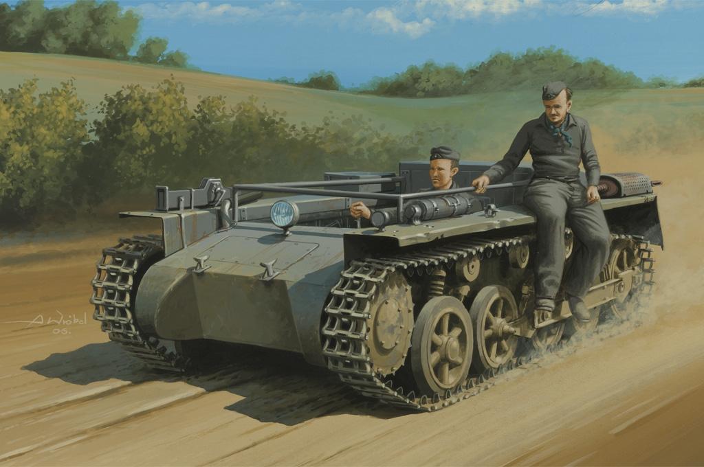 Hobby Boss 1/35 German Pz.Kpfw.1 Ausf.A ohne Aufbau