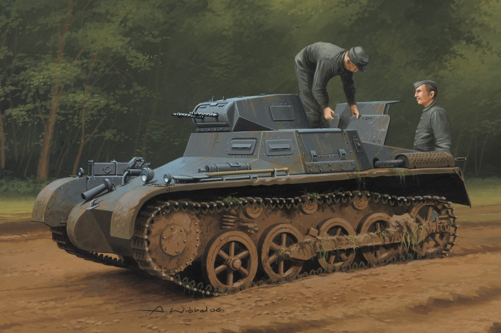Hobby Boss German Panzer 1Ausf A Sd.Kfz.101(Early/Late Version)
