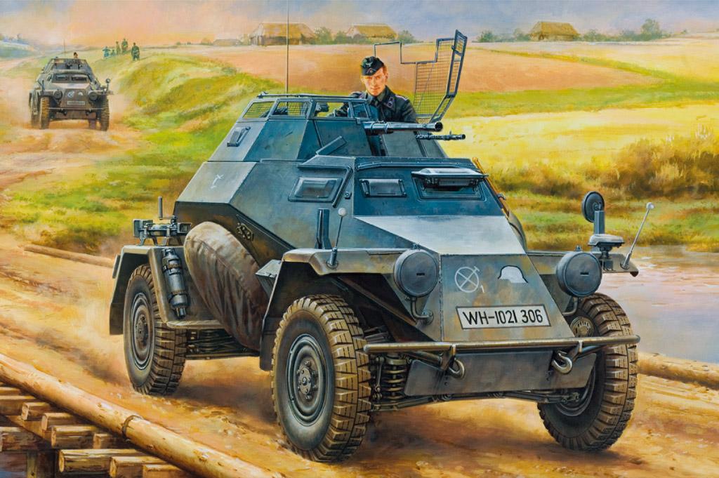 Hobby Boss 1/35 German Leichter Panzerspahwagen(2cm) Mid Version
