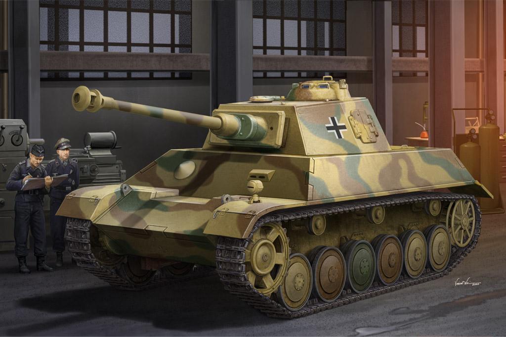 Hobby Boss 1/35 German Pz.Kpfw.III/IV auf Einheitsfahrgestell