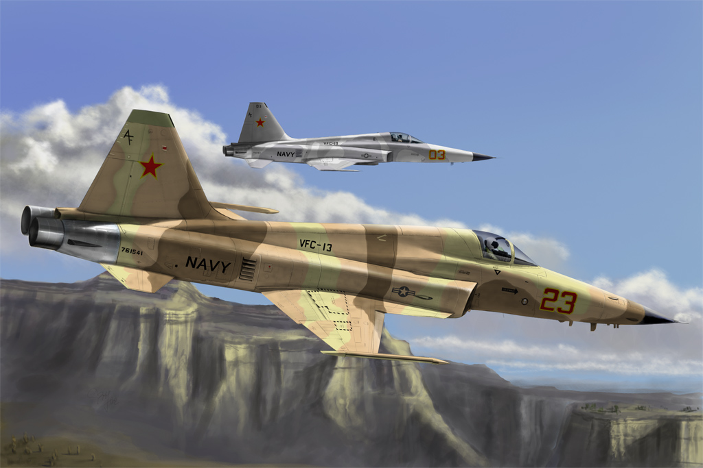 Hobby Boss F-5E Tiger II Fighter