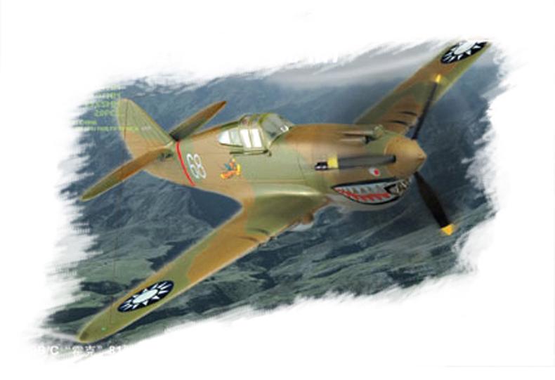 Hobby Boss 1/72 P-40B/C HAWK-81A