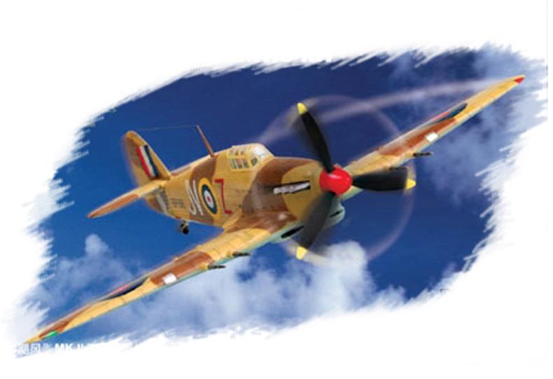 Hobby Boss 1/72 Hurricane Mk.II TROP