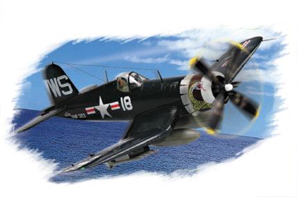 Hobby Boss 1/72 F4U-4 Corsair