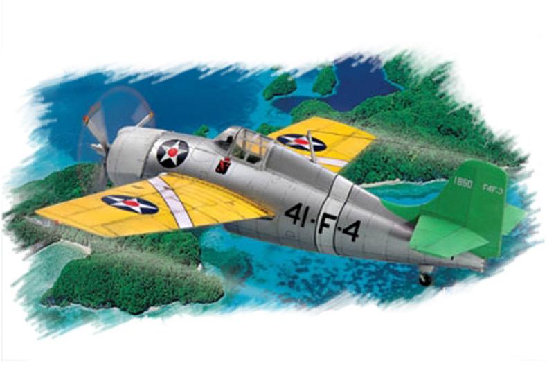 Hobby Boss 1/72 F4F-3 Wildcat