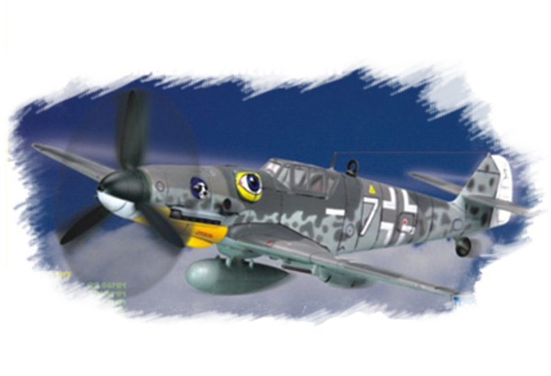 Hobby Boss 1/72 Bf109 G-6 (late)