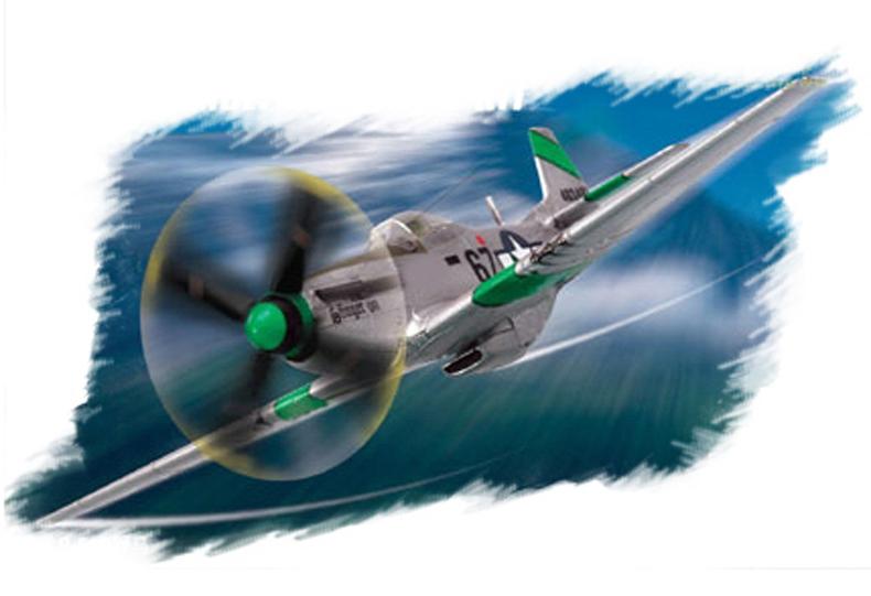 "Hobby Boss 1/72 P-51D ""Mustang"" IV"
