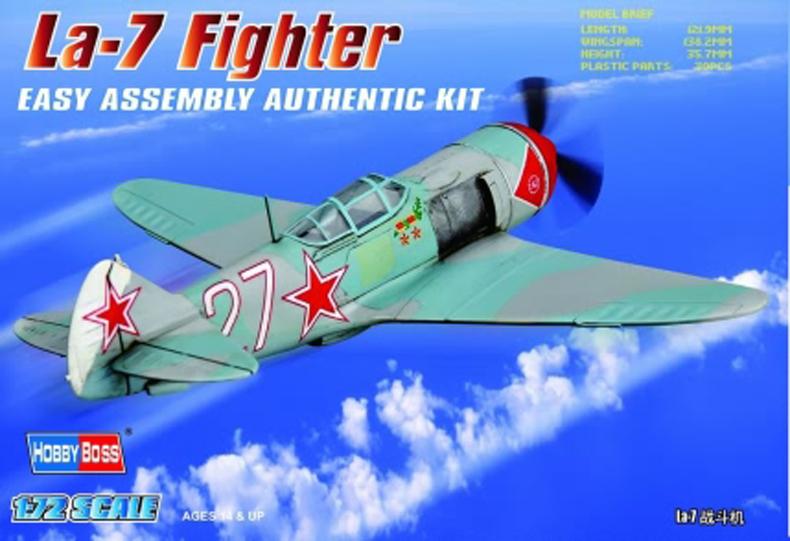 Hobby Boss 1/72 La-7 Fighter