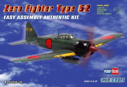 Hobby Boss 1/72 Zero Fighter Type 52