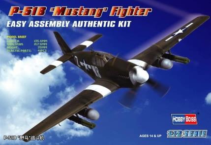 Hobby Boss 1/72 P-51B Mustang Fighter