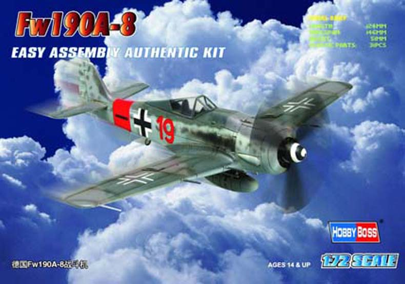 Hobby Boss 1/72 Germany Fw190A-8 Fighter